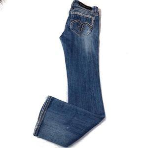 Rock Revival Alanis Boot Cut Jeans Size 30